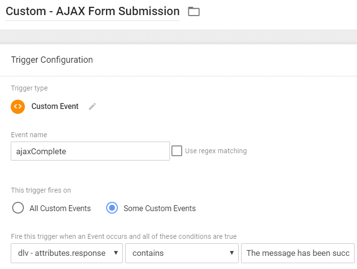 ajax complete trigger, ajax form tracking, gtm, lead tracking