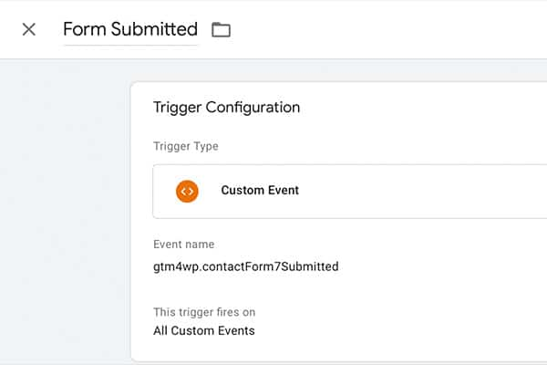 lead tracking, gtm, google tag manager, gtm custom event trigger