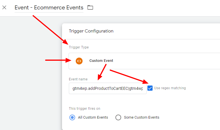 ecommerce tracking, gtm, google tag manager