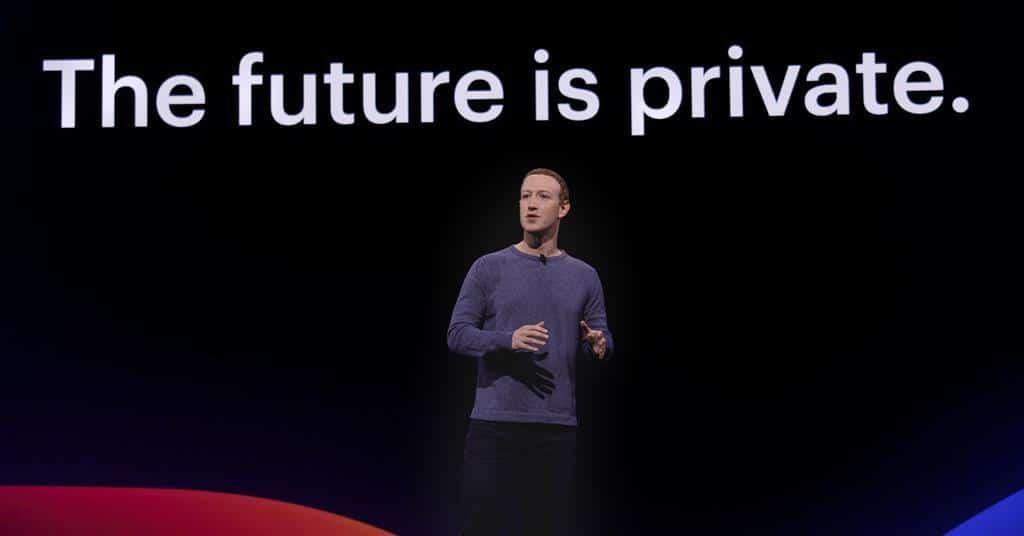 the future is private, mark zuckerberg
